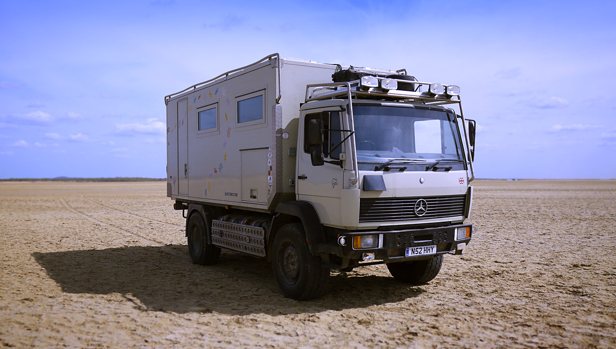 Overland camper truck for sale