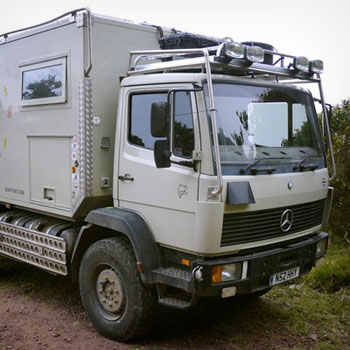 Mercedes 1124af camper van specification